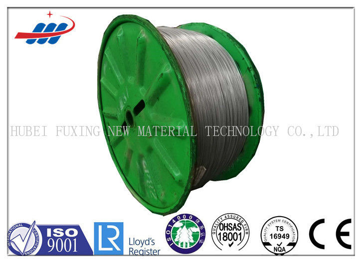 Bright / Silver High Carbon Steel Wire Cold Drawn Type With Zinc Coated