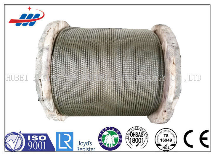 Ungalvanized High Carbon Steel Cable , Strong Wire Rope For Crane / Shipping