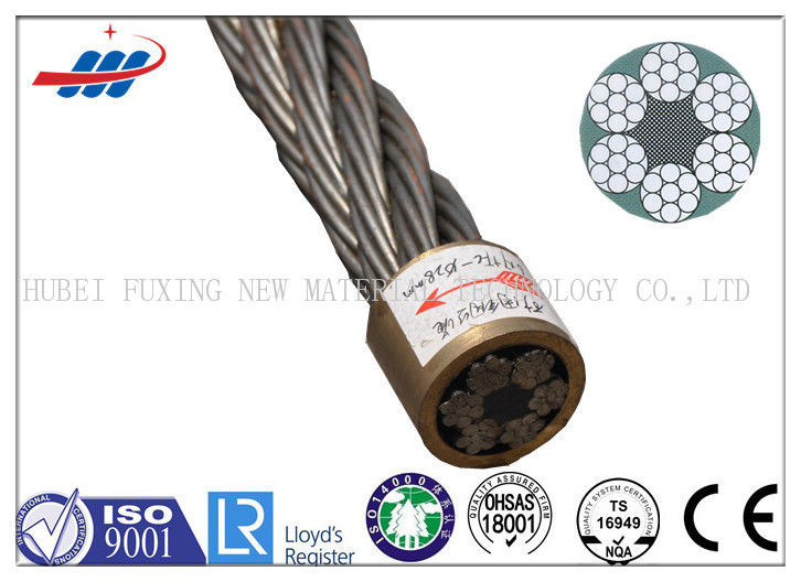 Ungalvanized Steel Wire Rope For Cranes 6x7+FC With 6-48mm Wire Gauge